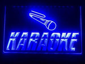 Karaoke lighted sign Game room karaoke Box LED display 5