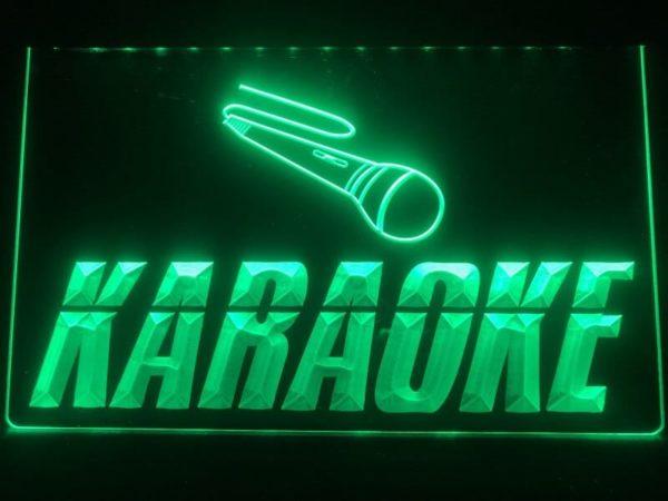 Karaoke lighted sign Game room karaoke Box LED display 1