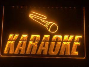 Karaoke lighted sign Game room karaoke Box LED display 2