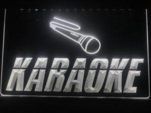 Karaoke lighted sign Game room karaoke Box LED display 4