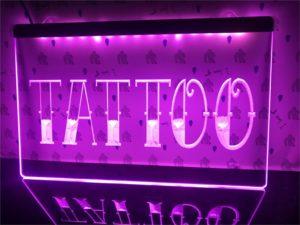 Tattoo Shop LED window sign Tatto lighted door display 2