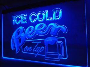 Bar beer led sign Bar Pub Cold Beer on Tap lighted sign