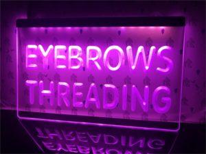 Eyebrows Threading light sign Beauty Salon led door Sign 1