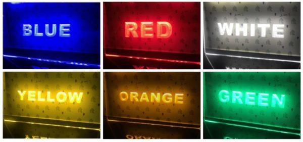 light-sign-colors